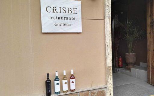 Entrada con vino crisbe