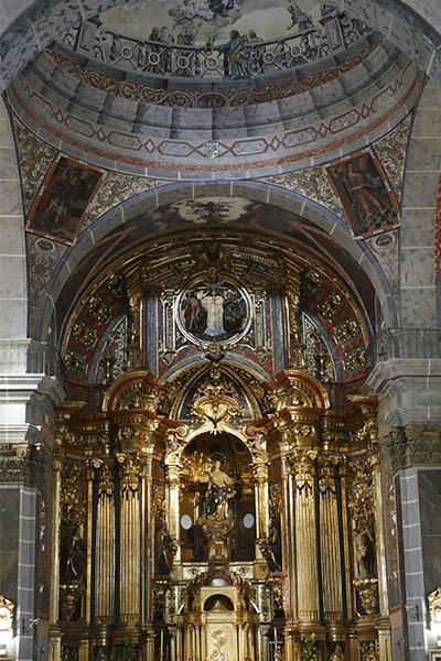 altar iglesia huercal overa
