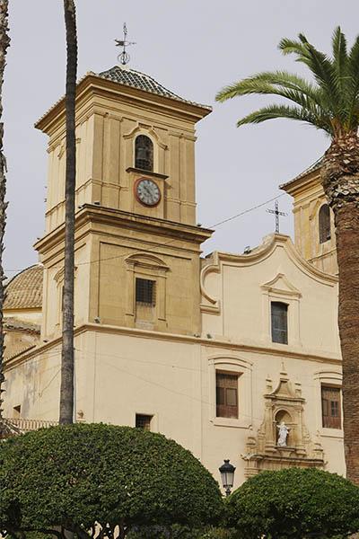 fachada iglesia huercal overa