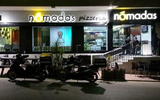 fachada pizzeria nomadas